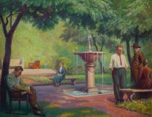 Tree Studio Courtyard