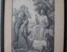 Seated Jesus