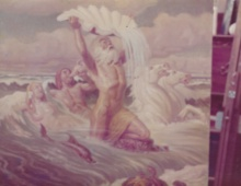 Neptune Rising from the Sea