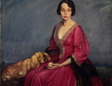 Lady with Dog